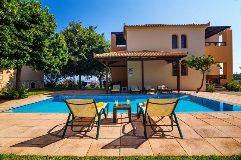 Villa Aphroditi, a luxury villa in Maleme village - Image 1 - Maleme - rentals