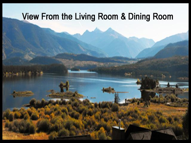 Summer View From our Living Room - Fab Views, 2brm/2Bath Condo, Garage, Elev, Hot Tub - Frisco - rentals