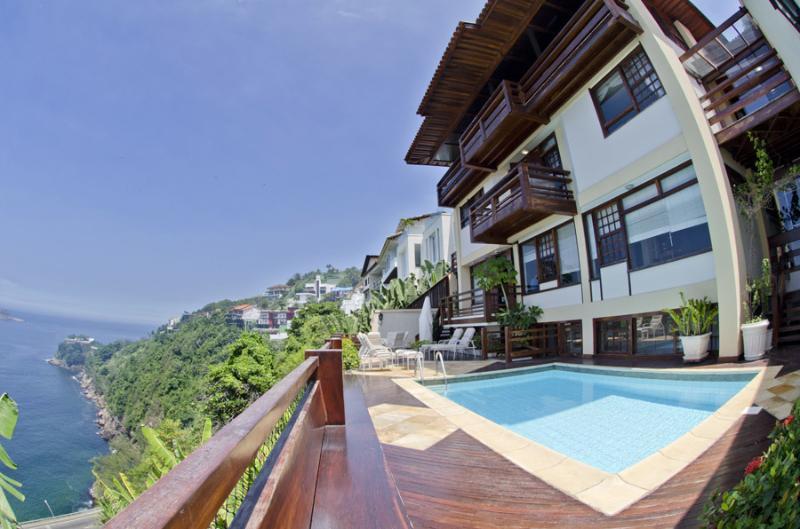 Wonderful villa with a stunning sea view in Joa - Image 1 - Rio de Janeiro - rentals