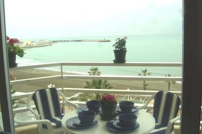 Terrace - Beachfrom Benalmadena,Port Marina,3bedroom,WIFI - Malaga - rentals