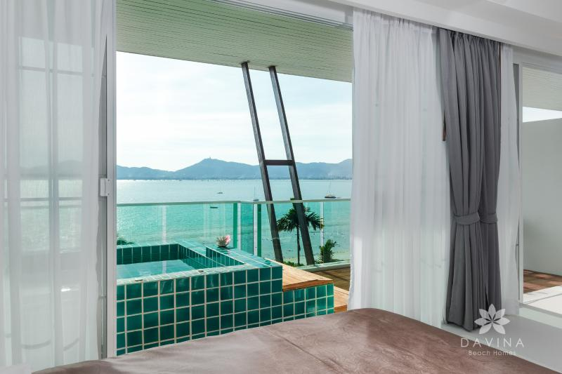 Top floor rooms - requires inquiry from guest on room availability - 1BD Ocean View Loft-style, Beachfront with Pool - Cape Panwa - rentals