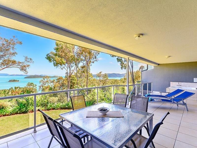 Balcony View - Blue Water Views 14 - Hamilton Island - rentals