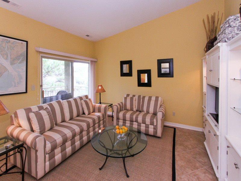 Living Room at 1812 Bluff Villa - 1812 Bluff Villa - Sea Pines - rentals