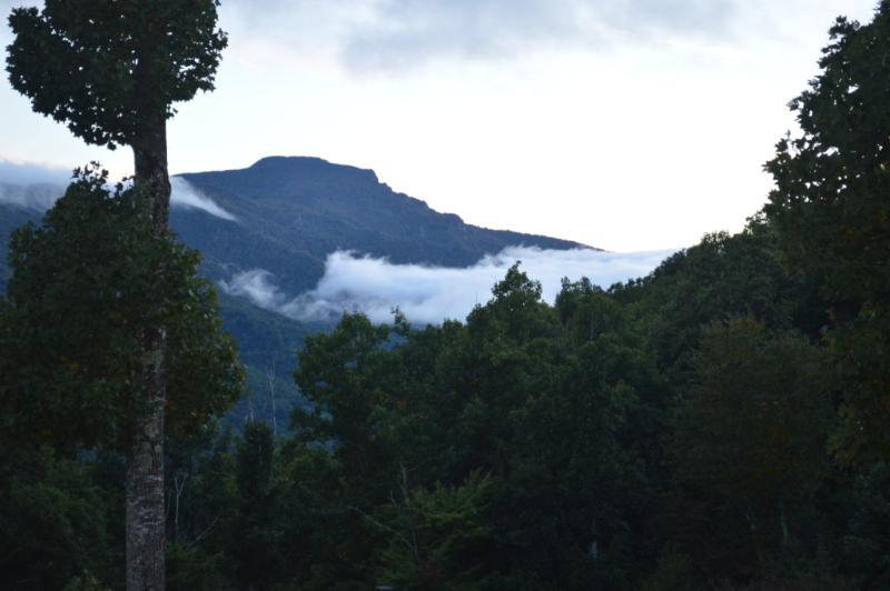 view from deck - Grandfather Mountain Vista - Banner Elk - rentals