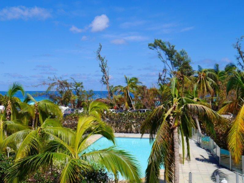 Côté Chic : sea view and direct access to the beach - Côté Chic, gorgeous village-house sea view - Orient Bay - rentals