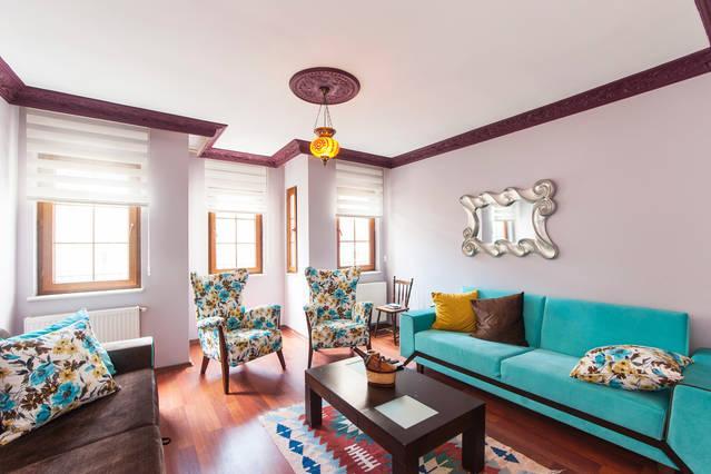 Living Room - Taksi̇m İSti̇klal  İS Flat / 4 Sleep - Istanbul - rentals