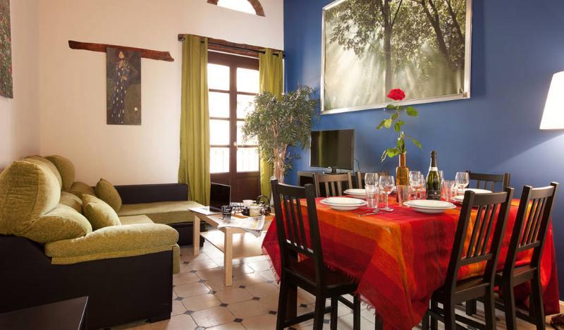Living area - BLUE UNIQUE, BORN AREA - Barcelona - rentals
