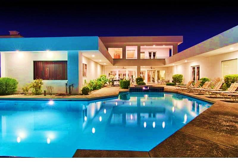 La Rosa Mega Mansion Only 4.5 mi. To Strip Sleeps 20 - Image 1 - Las Vegas - rentals