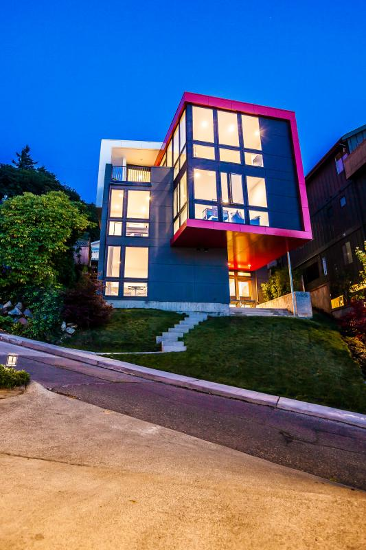 You will stay in the lower halfof our home.  NOTE: 9 steps without handrails to get into the space - Brand New Modern Beach house w/ 180 view on ALKI - Seattle - rentals