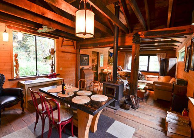 Upscale & Authentic: Stone Lagoon Cabin-Gaze at Wild Elk, Hike to Beach - Image 1 - Trinidad - rentals