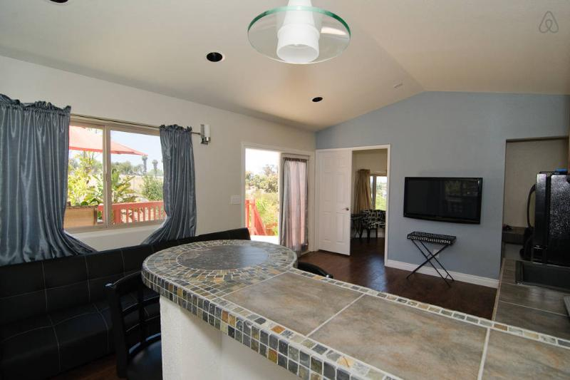 CUSTOM BUILT IN BAR - Upscale Corporate Rental - Oceanside - rentals