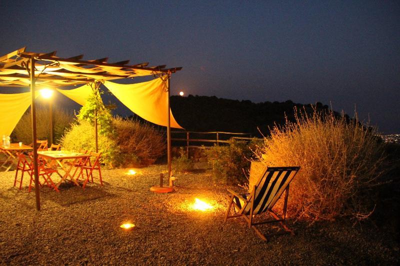 The terrace outside the house in summer - Casa Etnea - Trecastagni - rentals