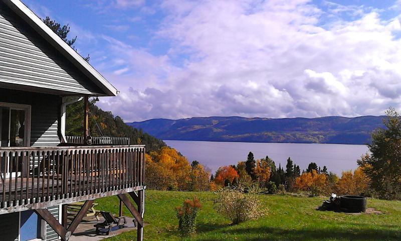 Splendid Panorama Fjord Saguenay! - Image 1 - Sainte-Rose-du-Nord - rentals