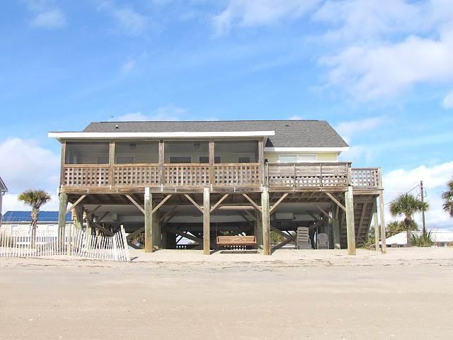 "208 Palmetto Blvd - ""Tuckered Out"" - Image 1 - Edisto Beach - rentals"
