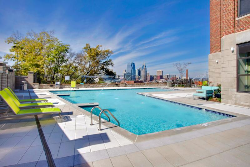 Stay Alfred Rooftop Deck by River and Greenway CV2 - Image 1 - Nashville - rentals