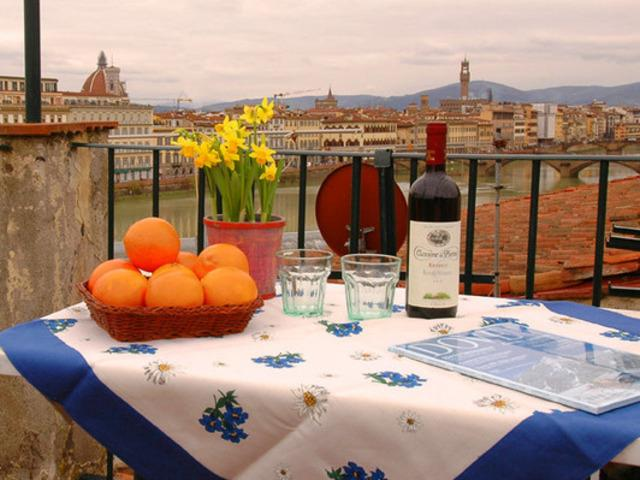 Florence centre, Terrace, WIFi (Soderini) - Image 1 - Florence - rentals