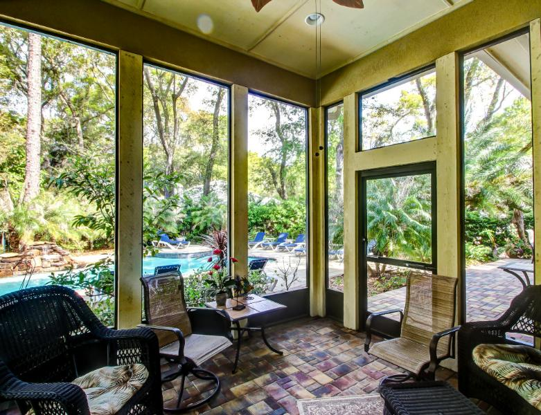 Beautiful home with private pool and waterfall - Image 1 - Amelia Island - rentals