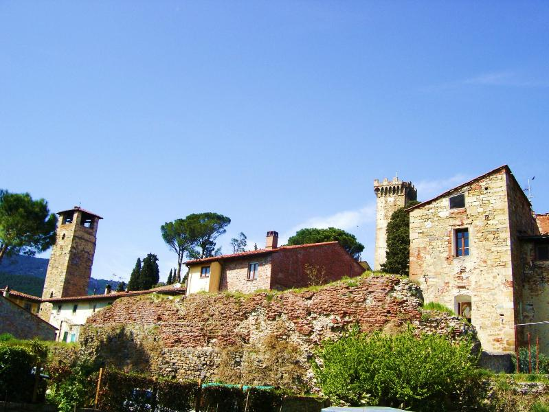 Romantic Medieval Tower house apartment in Tuscany - Image 1 - Pisa - rentals
