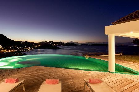 Elegant Villa Coco overlooks the ocean & sunset with gorgeous pool and spa - Image 1 - Camaruche - rentals