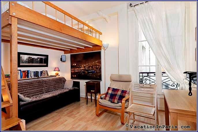 Maria's Marais Studio - Image 1 - Paris - rentals
