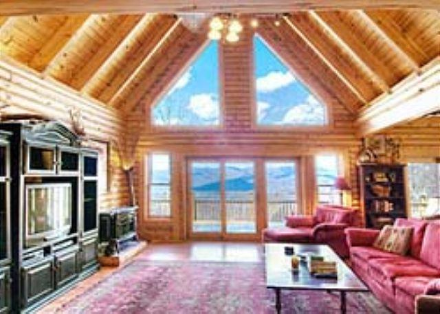 Great Room - Cabin in the Clouds - Swannanoa - rentals