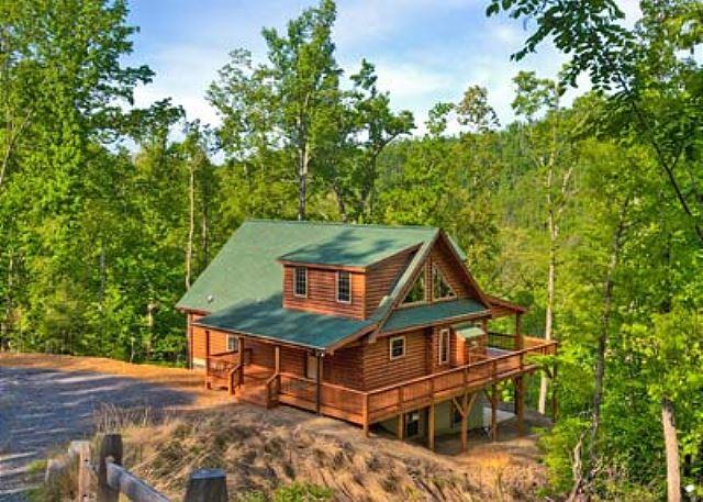 Blue Bear Cabin - Blue Bear Cabin | 3 BR Asheville Area | Mountain Views | Gas Fireplace - Bat Cave - rentals