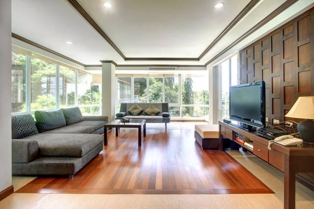 Living Room - Karon Luxury Apartment - 150sqm - 2 bedroom - Karon - rentals