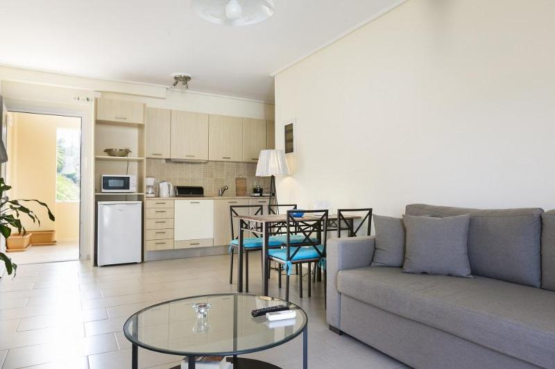 Living Room / Kitchen - Eucalyptus Apartments - Anemone - Sami - rentals
