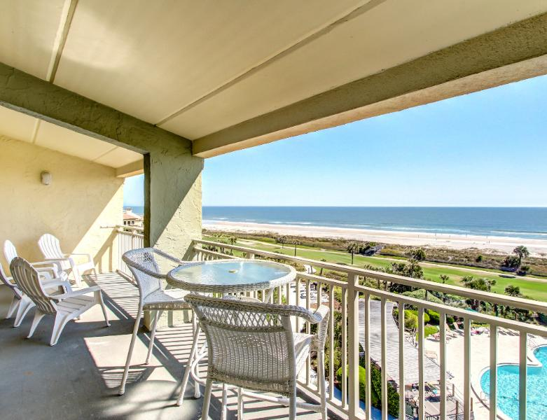 Enjoy the ocean view in this two bedroom condo - Image 1 - Amelia Island - rentals