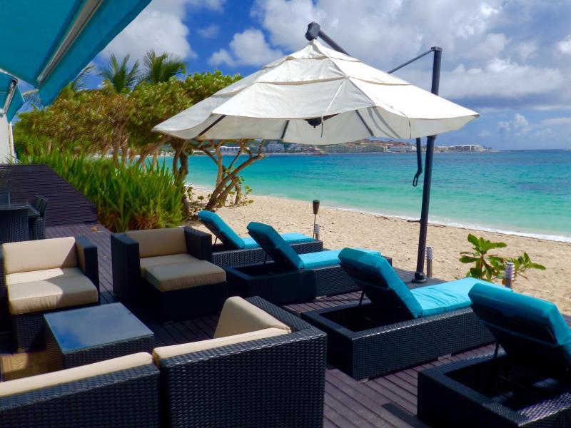 Tranquility Blue - Beachside Deck - Stunning - Cocos Beach Club Condo in Simpson Bay - Simpson Bay - rentals