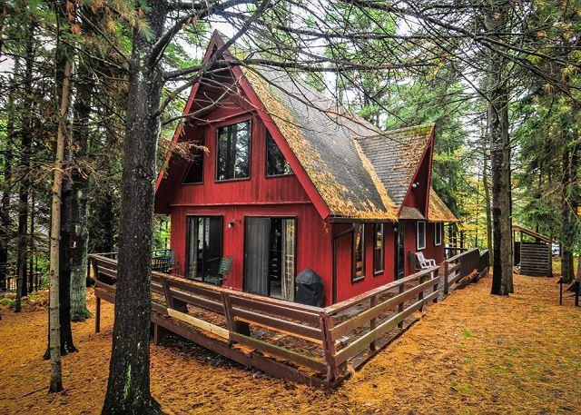 Exterior - Red Pines - Swanton - rentals