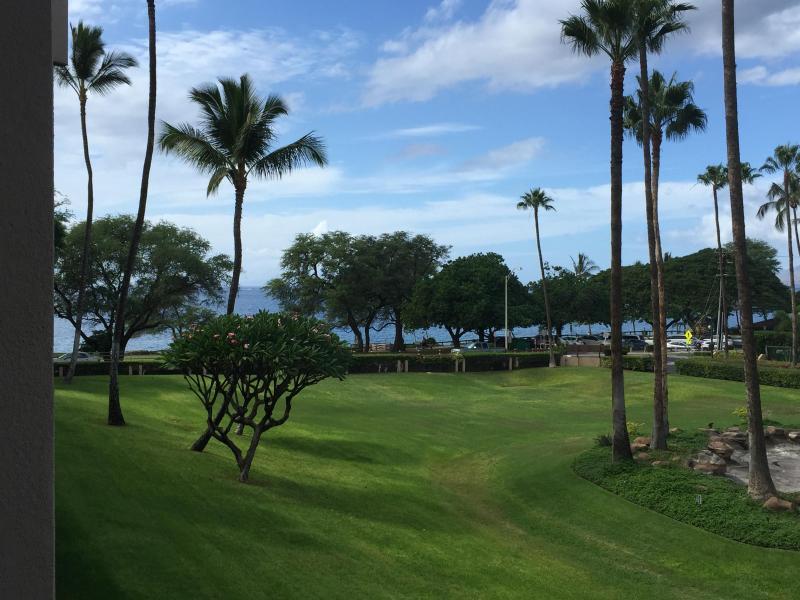 Ocean view from lanai - Kamaole Sands 10-211 Fabulous remodel/Ocean view! - Kihei - rentals