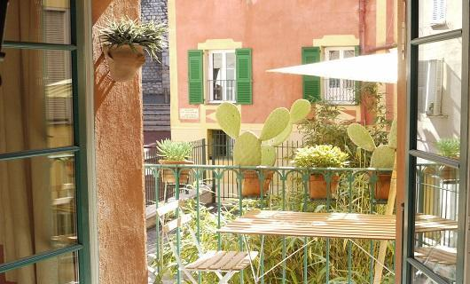 balcony - Malonat - 2 Bedroom Rental in the Old Town of Nice - Nice - rentals