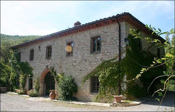 Property exterior - 5 bedroom villa in Tuscany (BFY13583) - Gaiole in Chianti - rentals