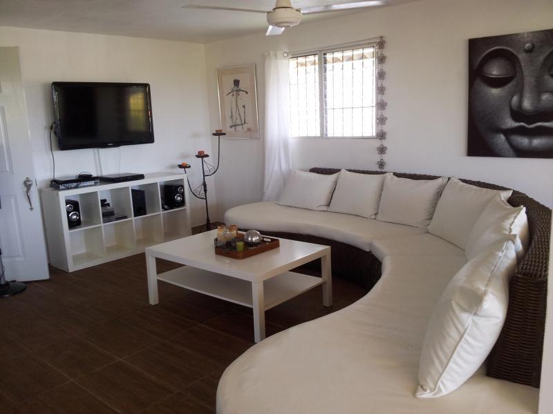 living room - Design Apartment with roof top terrace  sleeps 6, - Puerto Plata - rentals