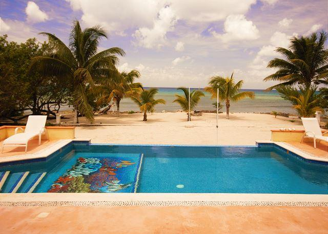 Paradise! - Beachfront Villa on Secluded Beach. Private Pool. Cook Service Available! - Cozumel - rentals