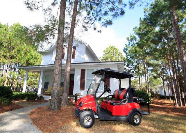 "House with Golf Cart - ""Golfing Around"" in Laurel Grove w/Golf Cart! Free Golf @ The Links! - Sandestin - rentals"