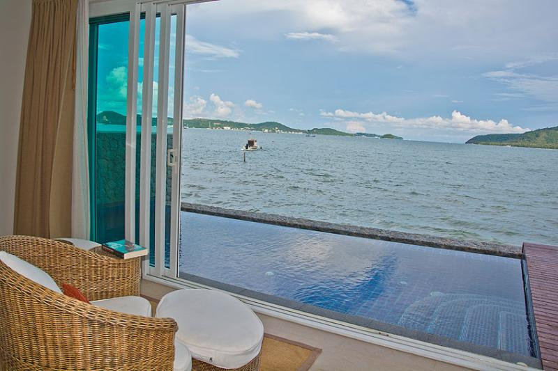 Beachfront Loft Apartment with private pool - Image 1 - Rawai - rentals