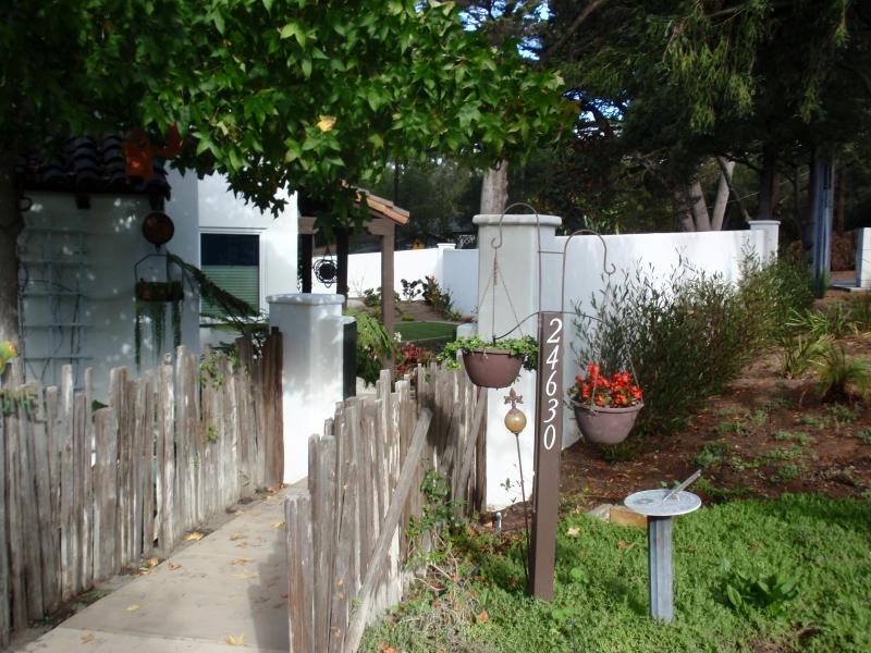Entrance to main house - Detached Studio Apartment in Carmel - Pet Friendly - Carmel - rentals