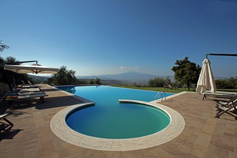 Villa Le Crete, beautiful villa lose in the winding hills of the Senese Crete. - Image 1 - Pienza - rentals