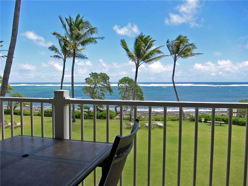 Kapaa Shore Resort #202-OCEANFRONT!King Bed! - Image 1 - Kapaa - rentals