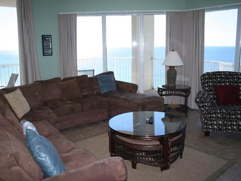 Beautiful Vacation Home with Wraparound Balcony at Tidewater - Image 1 - Panama City Beach - rentals