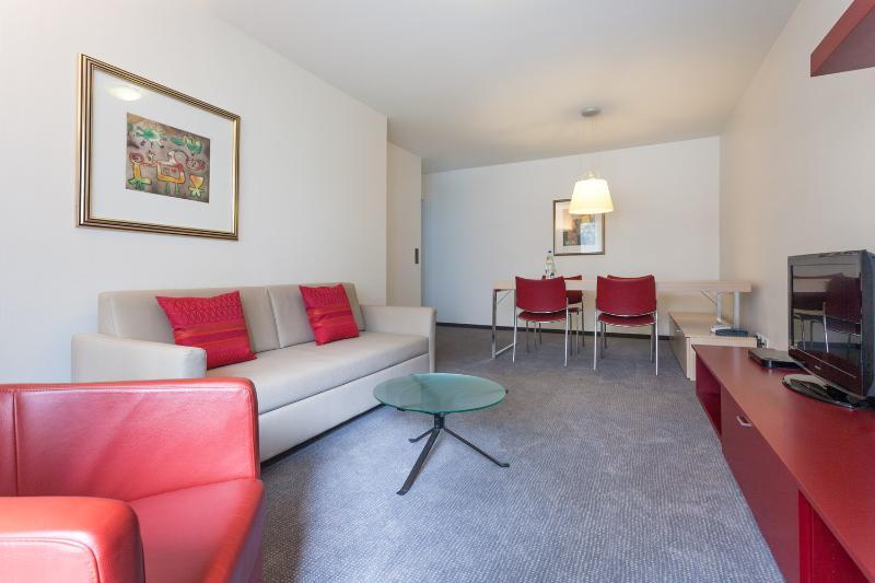 Living Room - EMA house Serviced Apartment, Florastr. 26, 1BR - Zurich - rentals
