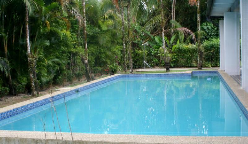 Outdoor Pool - 4 bedroom exclusive Villa in Pacific Harbour, Fiji. Can also be rented as 2 and 3 bedroom depending on requirements - Pacific Harbour - rentals
