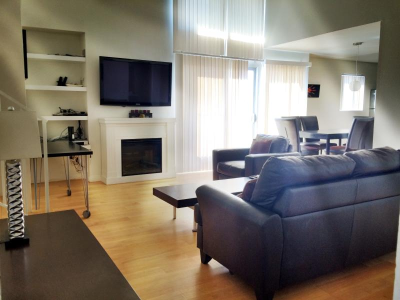 Living Room w Plasma TV - Venice Beach 2 Bed 2 Bath Ocean View #4 - Los Angeles - rentals