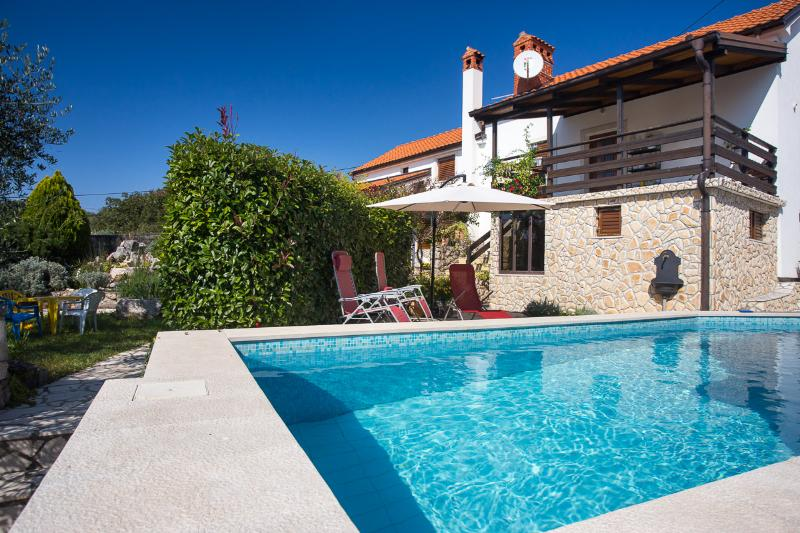 Beautiful quiet location with pool! - Image 1 - Vrbnik - rentals