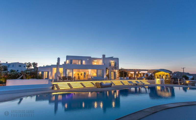 Villa Alegria  Unique Villa near Kalo Livadi Beach - Image 1 - Mykonos - rentals