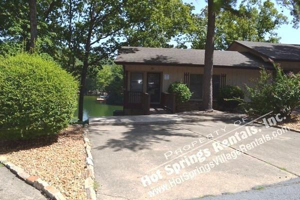 Front v1 - 10CaboPL   Lake DeSoto   Townhome   Sleeps 6 - Hot Springs Village - rentals