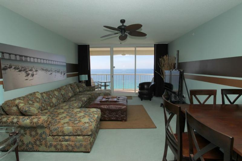 Gulf Views - Beautifully Appointed Living Area - Beautiful views located on the 19th floor 2br - Panama City Beach - rentals