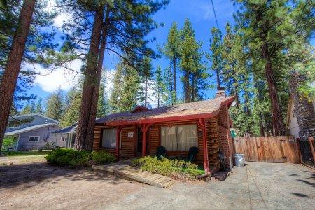 The original log cabin- 10min to beach, sleeps 10 - CYH1001 - Image 1 - South Lake Tahoe - rentals